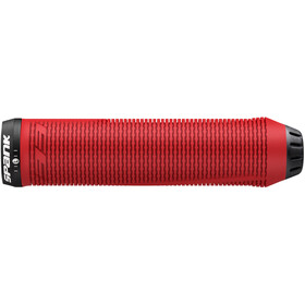 Spank Spike 33 Lock-On Handvaten, red